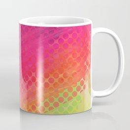 Halftone Smear Coffee Mug