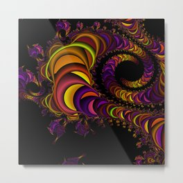 colors snake Metal Print
