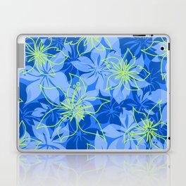 Olowalu Hibiscus Hawaiian CamoAloha Shirt Print  Laptop & iPad Skin