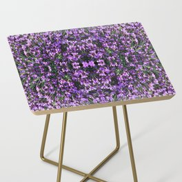 SPANISH LAVENDER AND ONE BEE Side Table