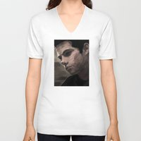 dylan V-neck T-shirts featuring dylan by Finduilas