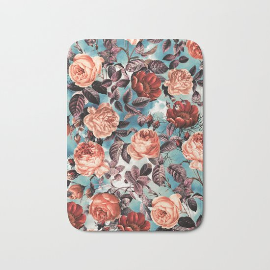 Summer Botanical Garden VI Bath Mat