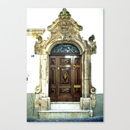Italian door Canvas Print