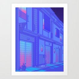 Kyoto Midnight Art Print