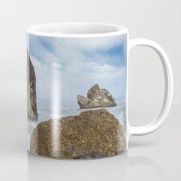 Sliding Away Coffee Mug