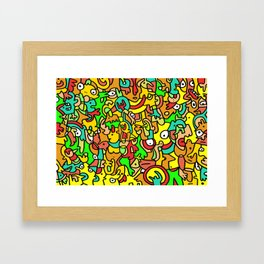 BOINGO Framed Art Print