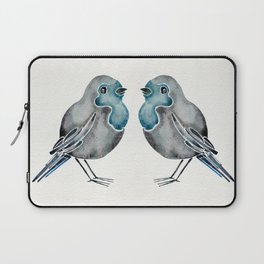 Little Blue Birds Laptop Sleeve