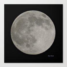 Tara's Moon Canvas Print