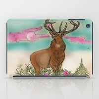 elk iPad Cases featuring Elk by Hollyce Jeffriess Designs