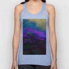 deep purple sky Unisex Tank Top