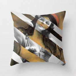 Munch & Rita Hayworth Throw Pillow