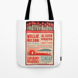 Willie Nelson And Family   Tote Bag
