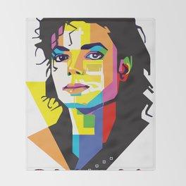 Ltd Edition: dance Mj Jackson t-shirt Throw Blanket