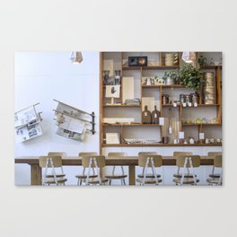 The Mill Morning Canvas Print