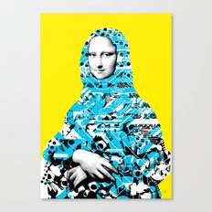 Mona Lisa Platina 3 Canvas Print