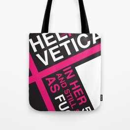 Helvetica: Born 1957 Tote Bag