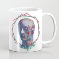 anatomy Mugs featuring Anatomy by RAdesigns