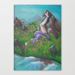 day dream by Lilly Hibbs Canvas Print