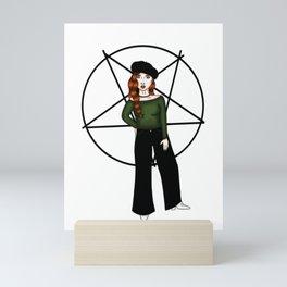 Fierce witch Mini Art Print