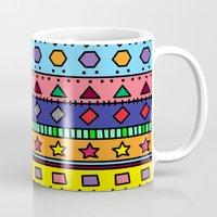 doodle Mugs featuring Doodle by Kat Mun