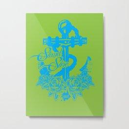 Anchor's Away! Metal Print