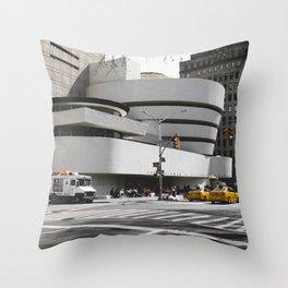 Guggenheim | Frank Gehry | architect Throw Pillow