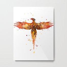 Fawkes Metal Print