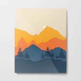 Mountain Landscape 20007 Metal Print