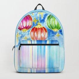Three oriental lanterns Backpack