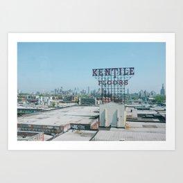 Kentile Floors Art Print