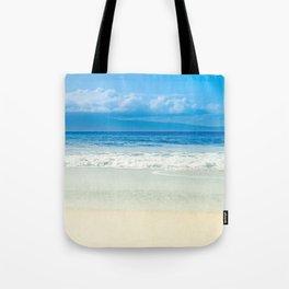 Beach Blue Kapalua Golden Sand Maui Hawaii Tote Bag