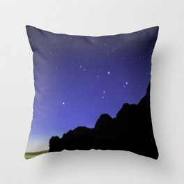 Stars at Arches National Park Moab, UT Throw Pillow
