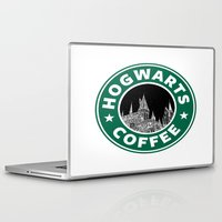 hogwarts Laptop & iPad Skins featuring Hogwarts Coffee by Beautiful Bibliophile's Boutique