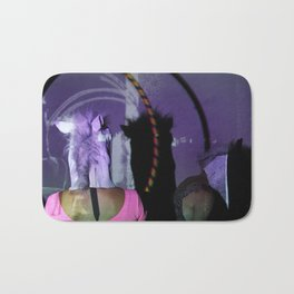 Purple horse had Bath Mat