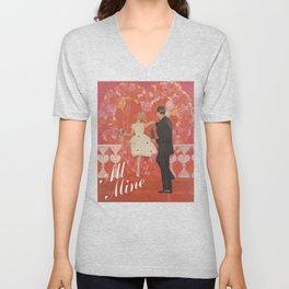 Be Mine, All Mine Unisex V-Neck