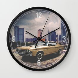 1969 Yenko Chevelle Decorative Wall Clock Wall Clock
