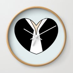 Han Solo Character Heart Wall Clock