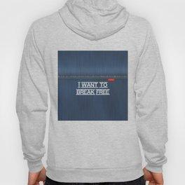 Denim Jeans - I Want To Break Free Hoody