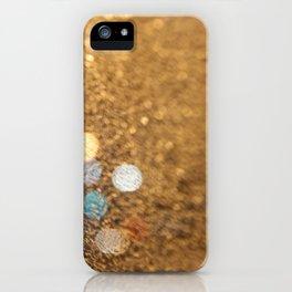Blue Bokeh  iPhone Case