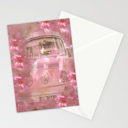 DESTINATION CHERRY BLOSSOM ROAD Stationery Cards