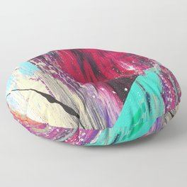 Abstract Fashion Future Floor Pillow