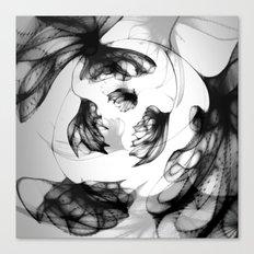 Datadoodle Flowers Canvas Print
