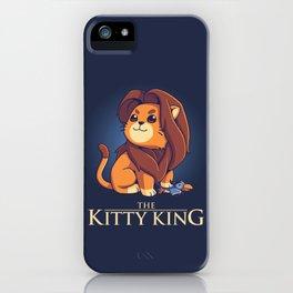 Kitty King - Dark Ver iPhone Case