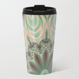 Fractal Baseline Mandala Travel Mug