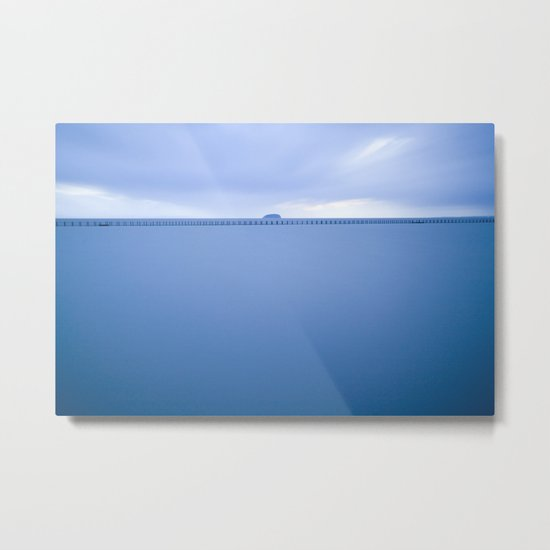 Marine Lake Metal Print