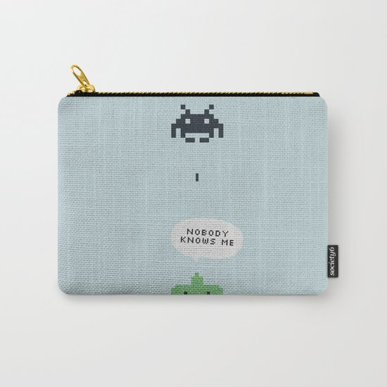 nobody knows Carry-All Pouch