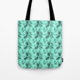 Patched Teal Waters Tote Bag