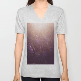 Purple haze Unisex V-Neck