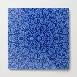 Kaleidoscope of mandalas Metal Print