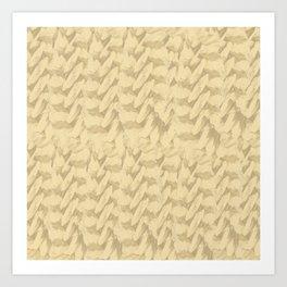 Wheat Strains Art Print